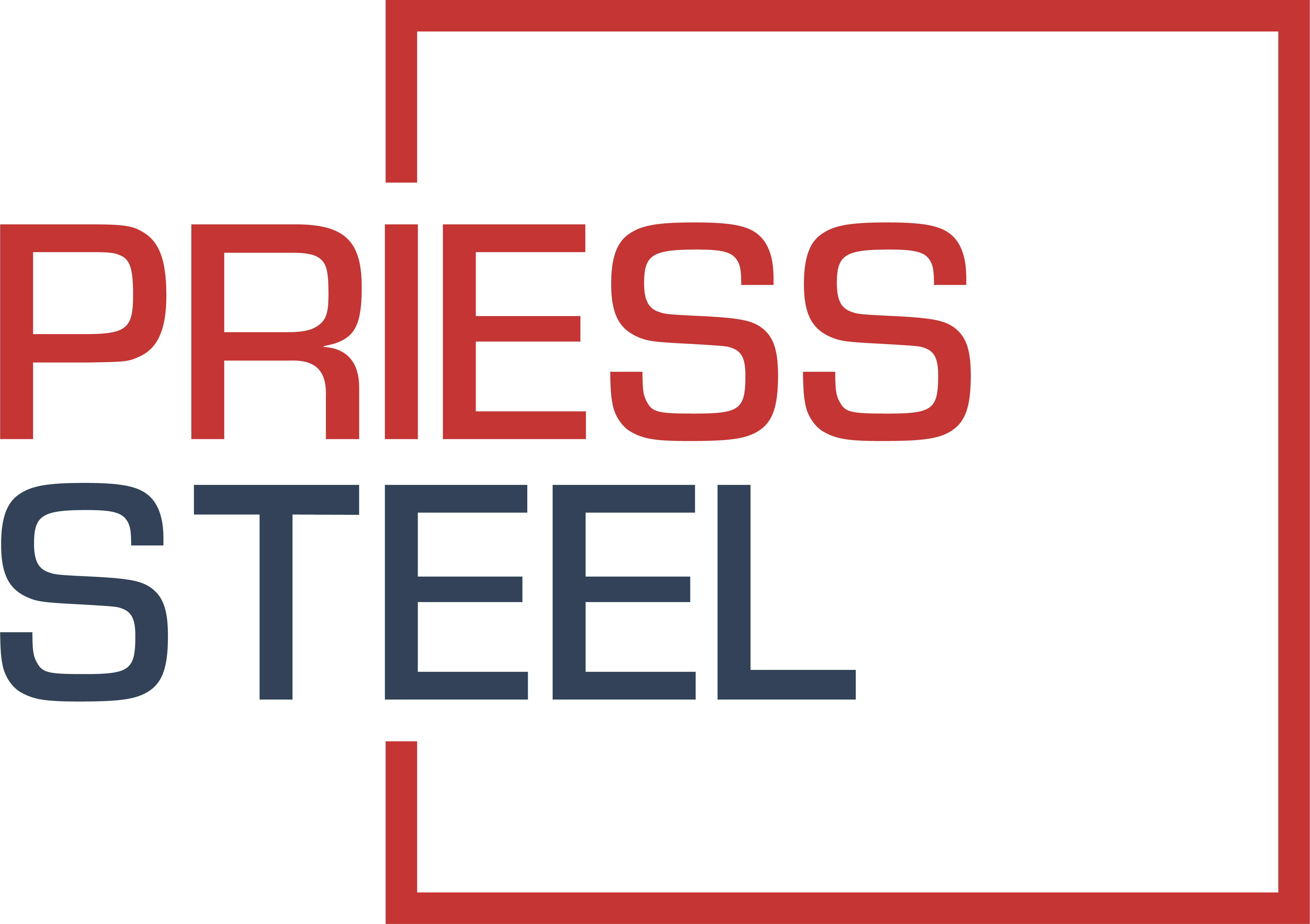 Priess-steel-logo-red-greyblue